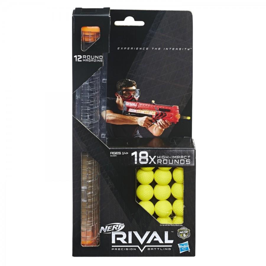 Запасная обойма Nerf Rival 18 шариков