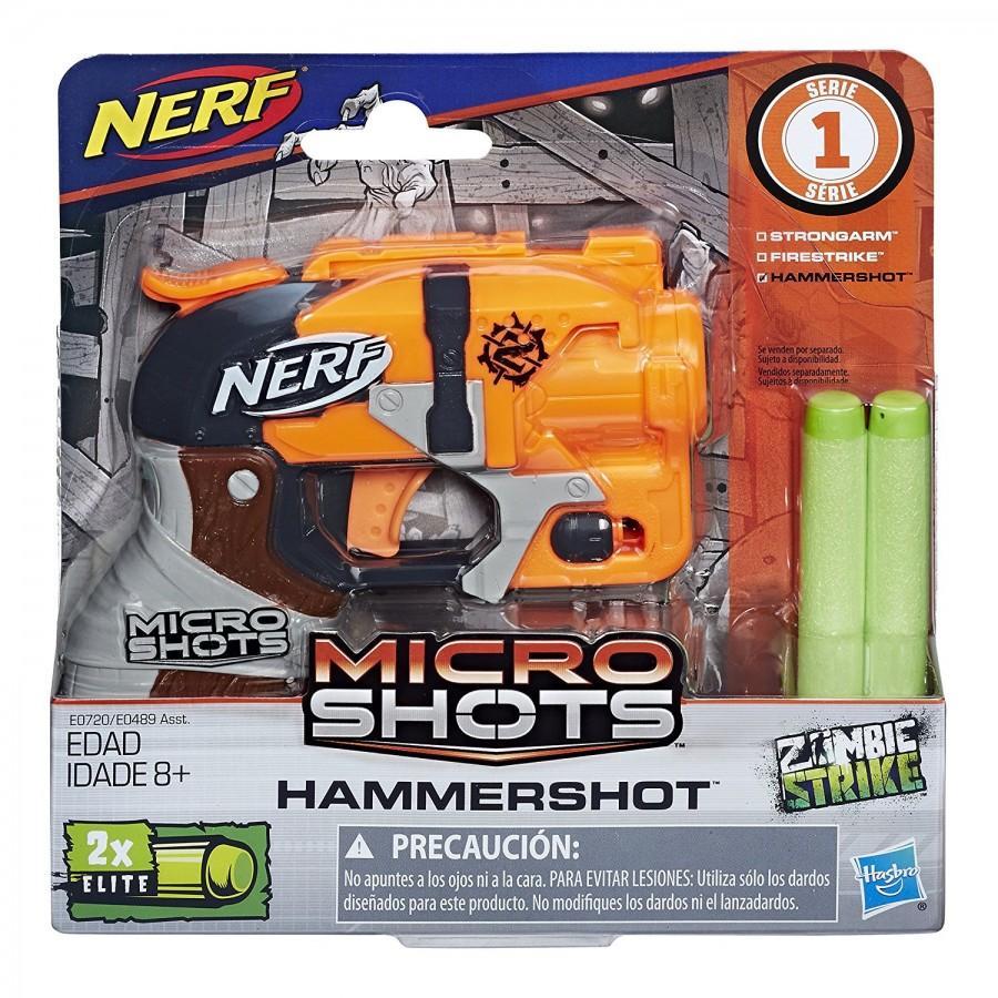 Nerf Микрошот Зомби Хаммершот (MicroShots Hammershot)