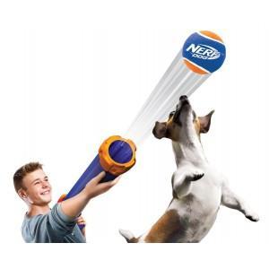 Бластер Нерф с мячом - игрушка для собак 50см