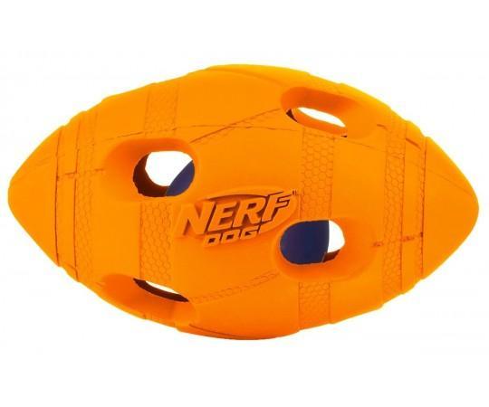 Nerf Dog Rugby Ball: Нерф светящийся мяч для игры с собакой в интернет магазине