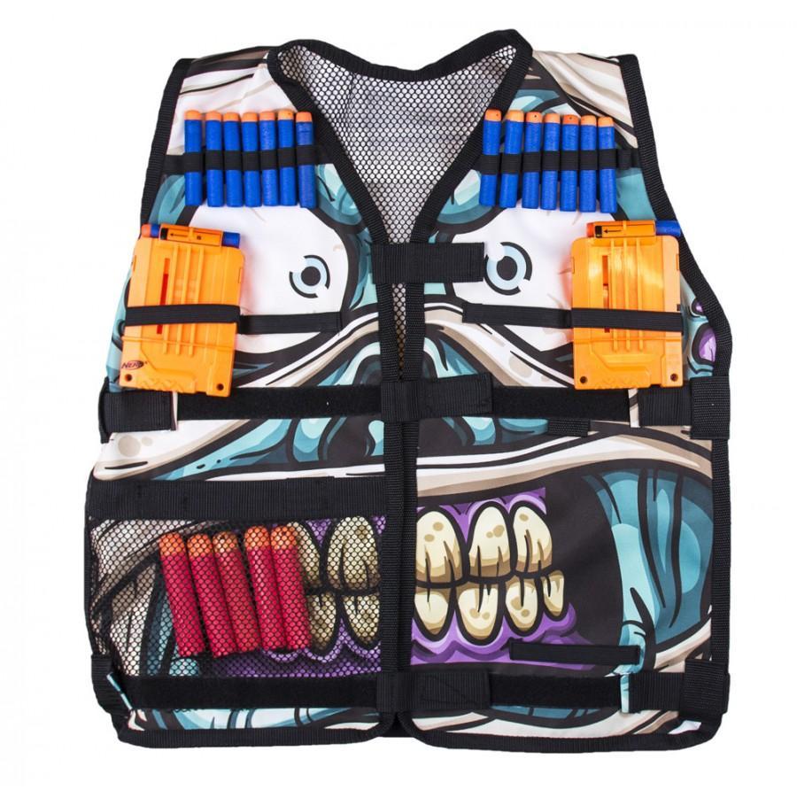 Разгрузочный жилет Мумия Нерфохамона универсальный с карманами