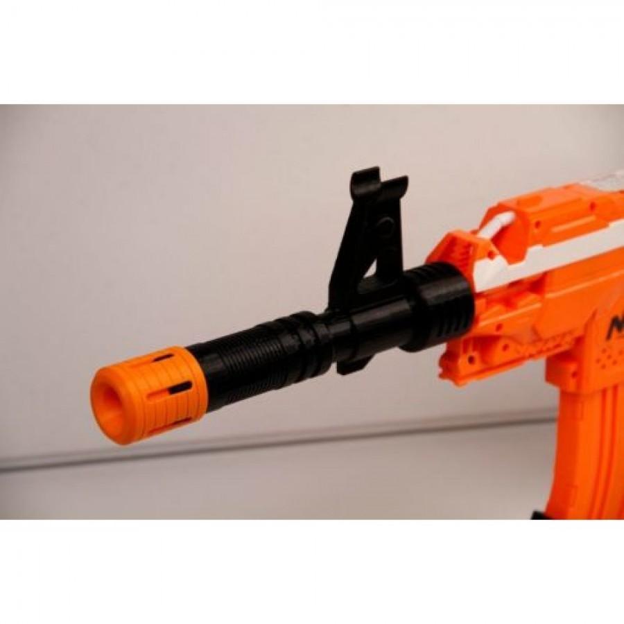 Удлинитель для ствола - Агент с 2мя тактическими планками