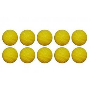 Шарики для стрельбы из бластеров RIVAL - желтые, 10шт