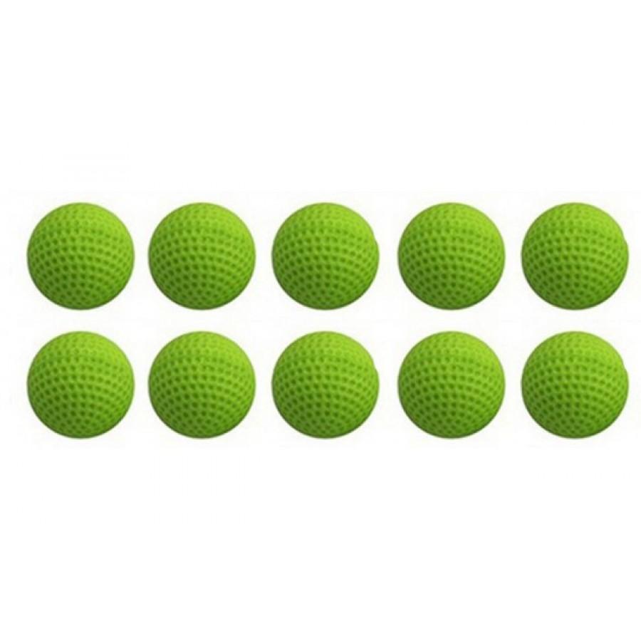 Шарики для стрельбы из бластеров RIVAL - зеленые, 10шт