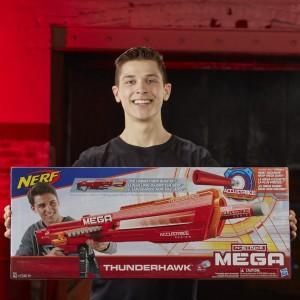 Бластер Нерф Мега Фандерхок (Thunderhawk)