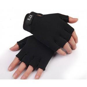 Перчатки Ekind черные для детей 7-9 лет