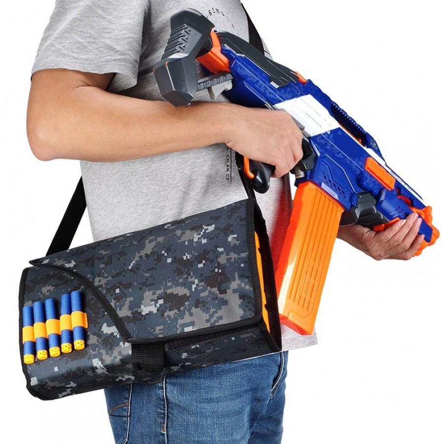 Переносной чехол - сумка для обойм Nerf серии Страйкбол