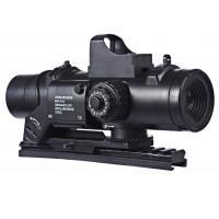 Оптический прицел и коллиматорный в комплекте (на планку 15см)