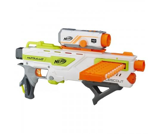 Бластер Nerf Modulus BattleScout ICS-10 с видеокамерой