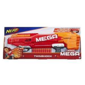 Nerf Мега бластер Твиншок (Twinshock) 10п