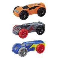 Машинки Нерф Nitro набор 3шт (Цвет-2)