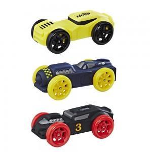 Машинки Нерф Nitro набор 3шт (Цвет-3)