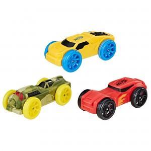 Машинки Нерф Nitro набор 3шт (Цвет-5)