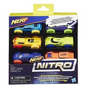 Машинки Нерф Nitro набор 6шт (Цвет-2)