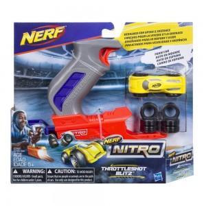 Нерф Нитро Throttleshot Blitz серый